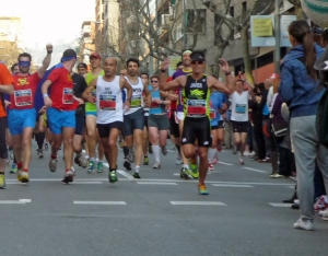 Corriendo con Superman. Foto by Clara